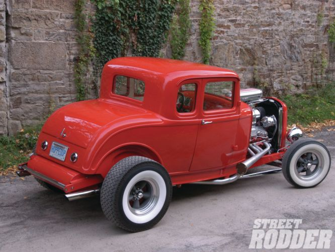 1932 Ford Five Window Coupe hot rods rod retro wallpaper