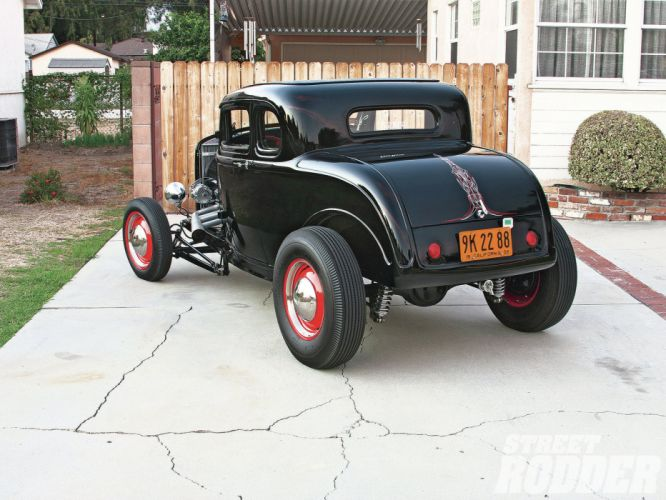 1932 Ford Five Window Coupe hot rod rods retro f wallpaper