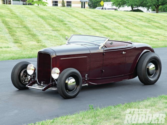 1932 Ford Roadster hot rod rods retro wallpaper