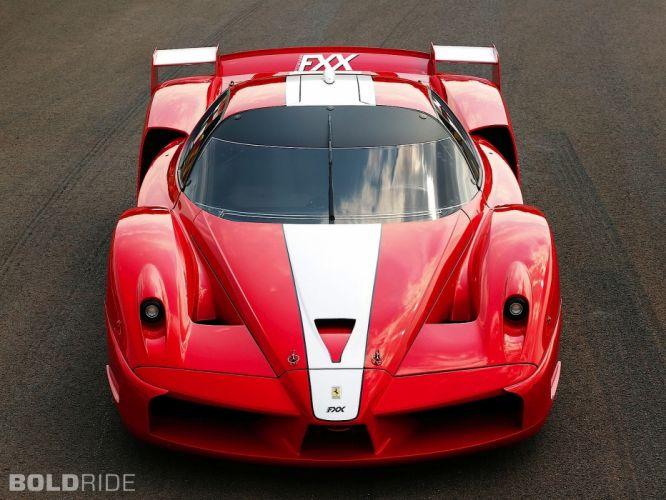 2005 Ferrari FXX supercars supercar race cars racing w wallpaper