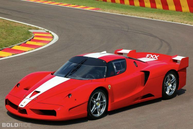 2005 Ferrari FXX supercars supercar race cars racing wallpaper