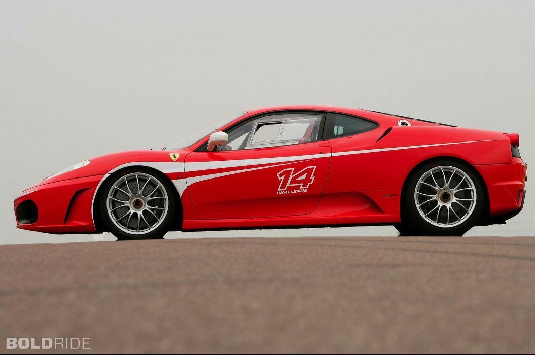 2006 Ferrari F430 Challenge supercars supercar race racing     d wallpaper