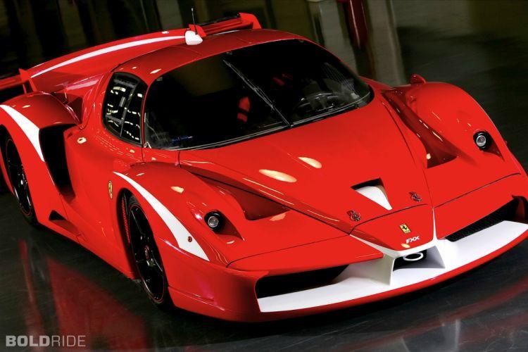 2008 Ferrari FXX Evolution supercar supercars race cars racing d wallpaper