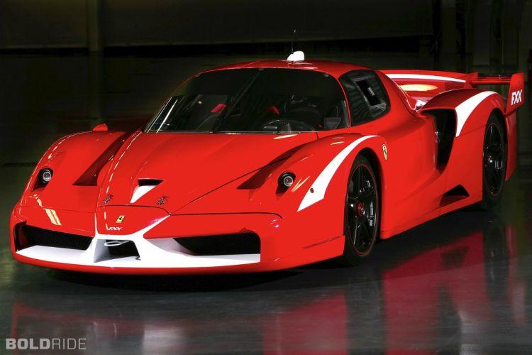 2008 Ferrari FXX Evolution supercar supercars race cars racing wallpaper