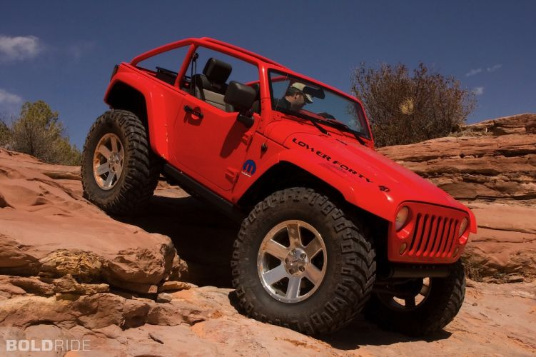 2009 Jeep Lower Forty offroad 4x4 wallpaper
