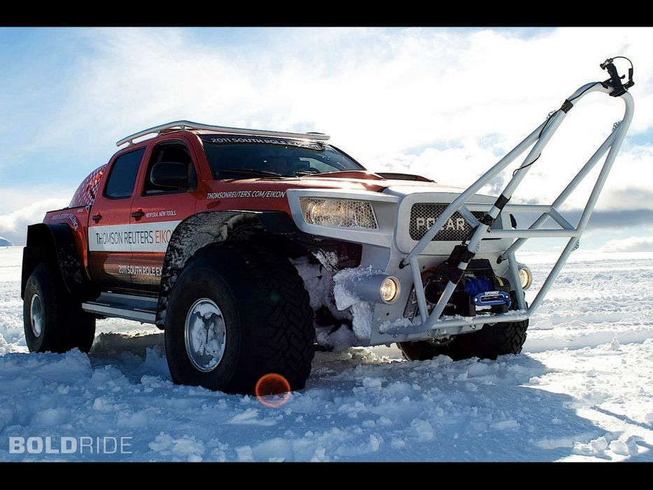 2011 South Pole Expedition Concept Vehicle offroad 4x4      d wallpaper