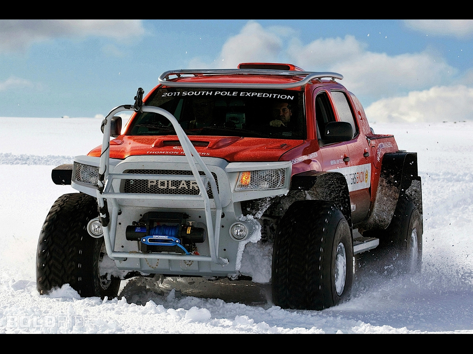 2011 South Pole Expedition Concept Vehicle Offroad 4x4