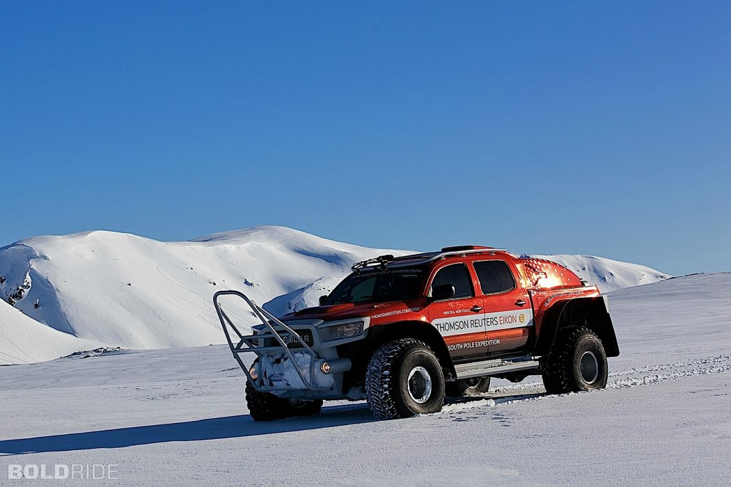 2011 South Pole Expedition Concept Vehicle offroad 4x4     f wallpaper