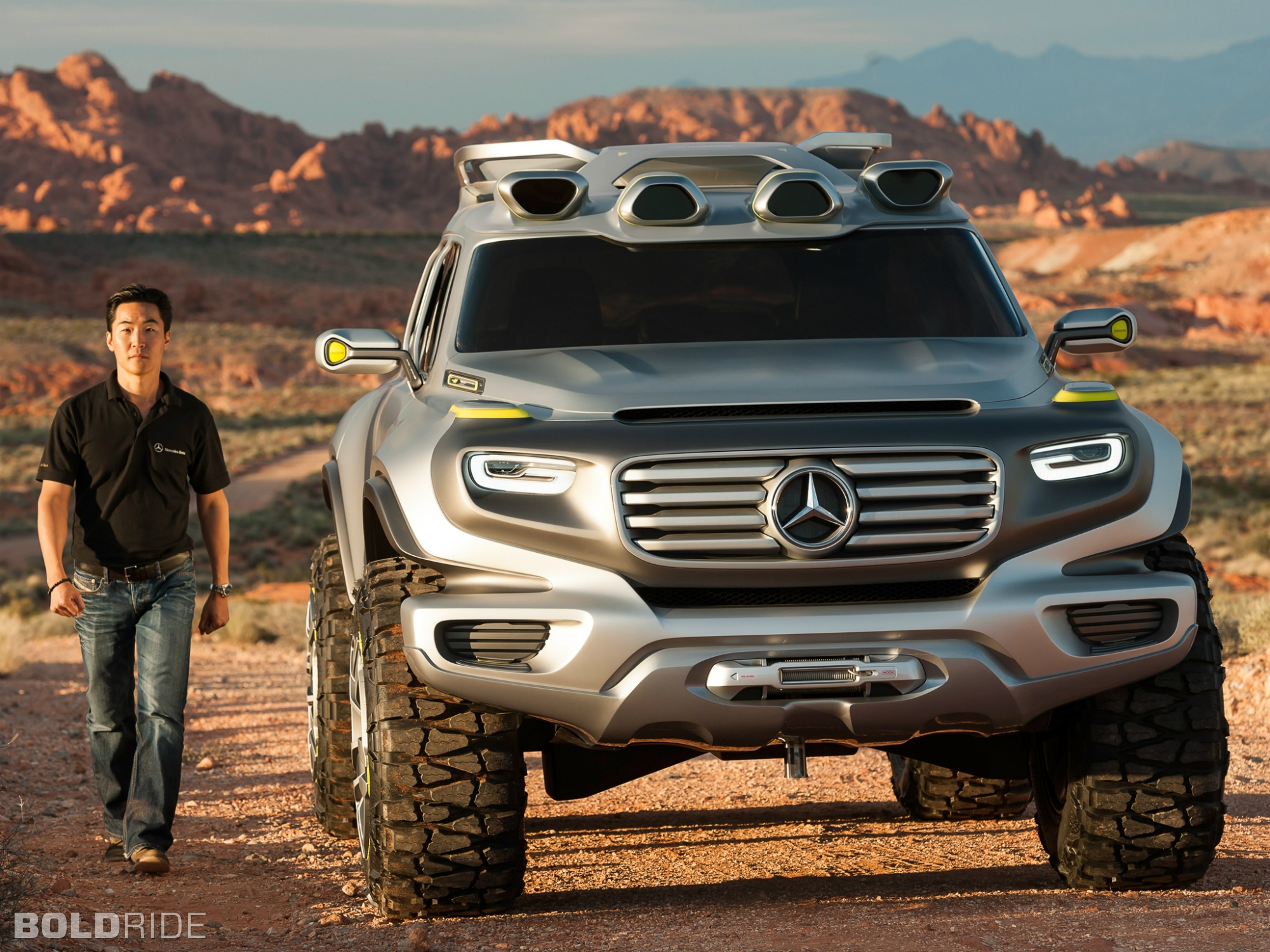 2012 mercedes benz ener g force concept 4x4 offroad suv d. Black Bedroom Furniture Sets. Home Design Ideas