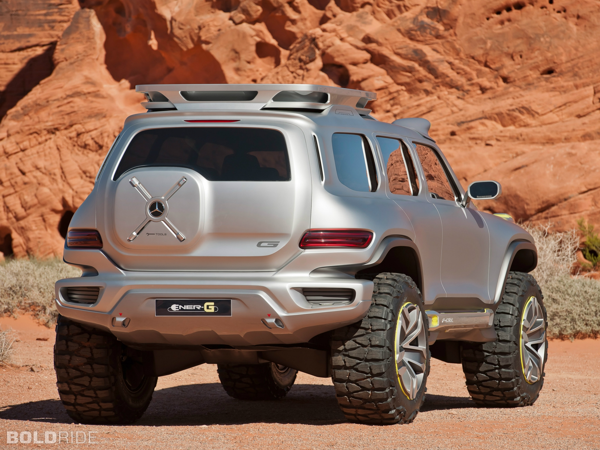 2012 Mercedes-Benz Ener-G-Force Concept 4x4 offroad suv t ...