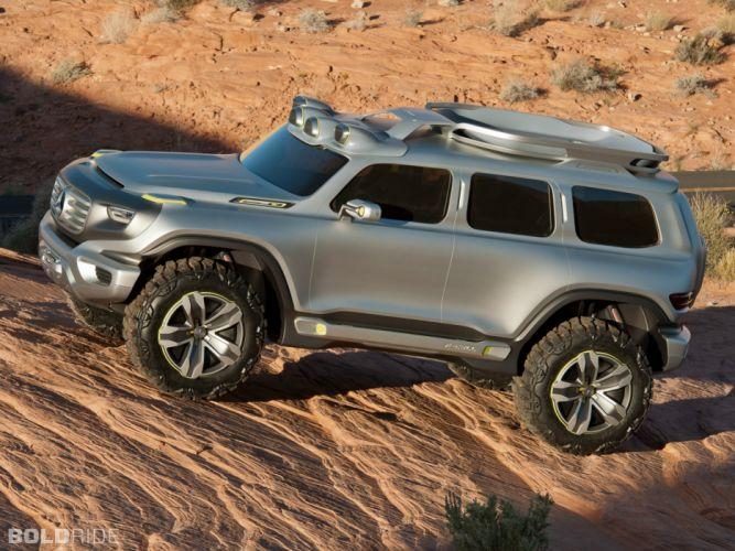 2012 Mercedes-Benz Ener-G-Force Concept 4x4 offroad suv u wallpaper