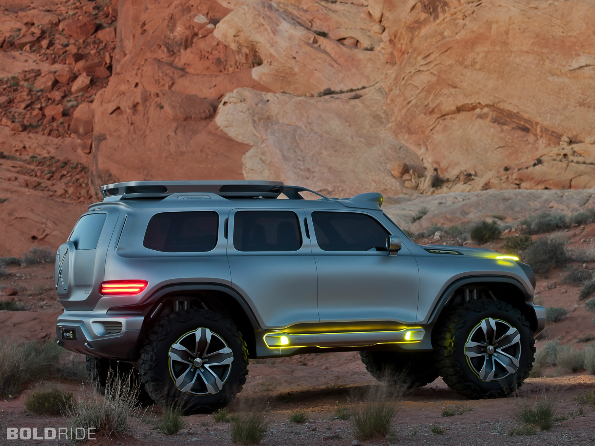 2012 mercedes benz ener g force concept 4x4 offroad suv e for 2012 mercedes benz suv