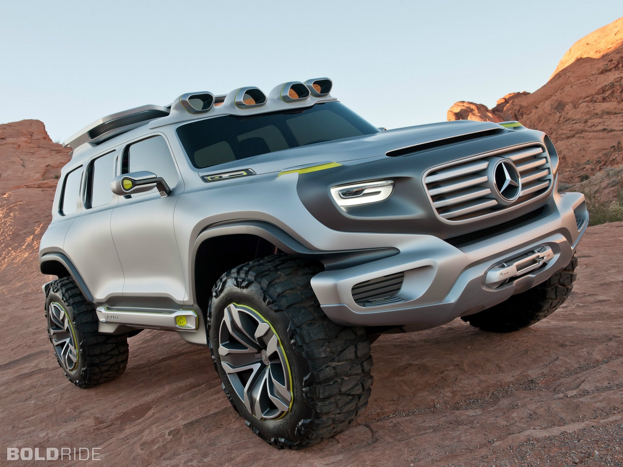 2012 mercedes benz ener g force concept 4x4 offroad suv q for 2012 mercedes benz suv