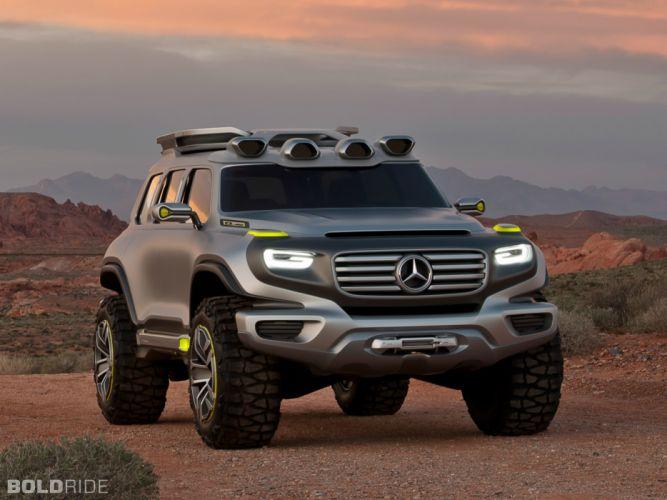 2012 Mercedes-Benz Ener-G-Force Concept 4x4 offroad suv wallpaper