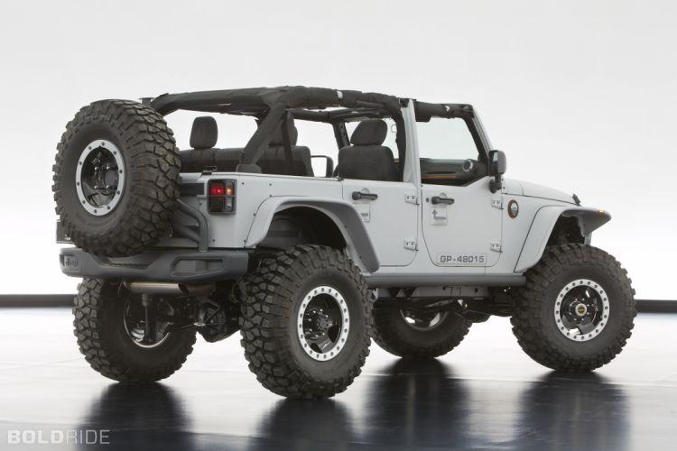 2013 Jeep Wrangler Mopar Recon 4x4 offroad q wallpaper