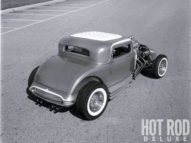 1932 Ford Deuce coupe hot rod rods retro wallpaper