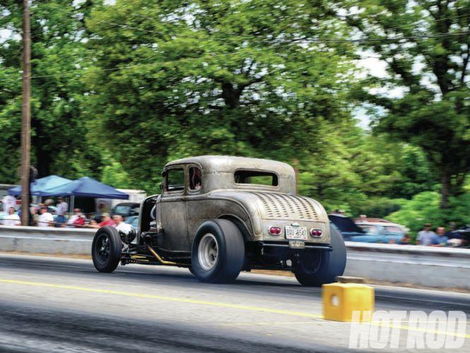 1932 Ford Deuce Coupe retro hot rod rods e wallpaper