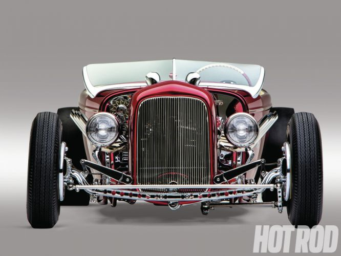 1932 Ford Roadster retro hot rod rods d wallpaper
