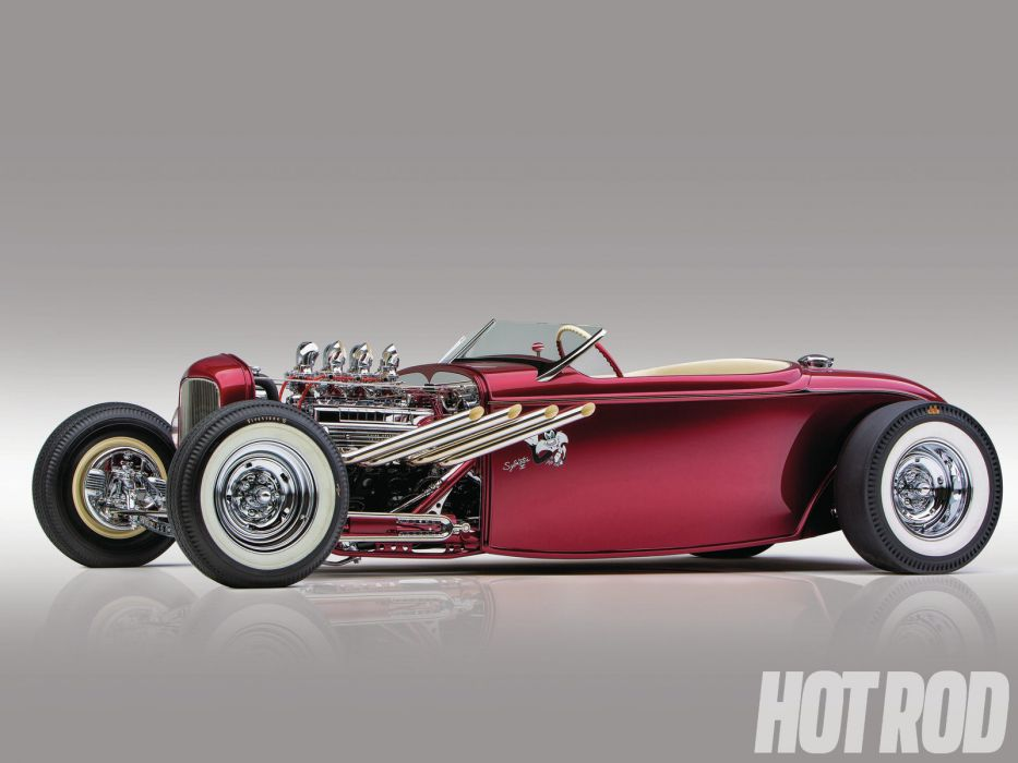 1932 Ford Roadster retro hot rod rods wallpaper