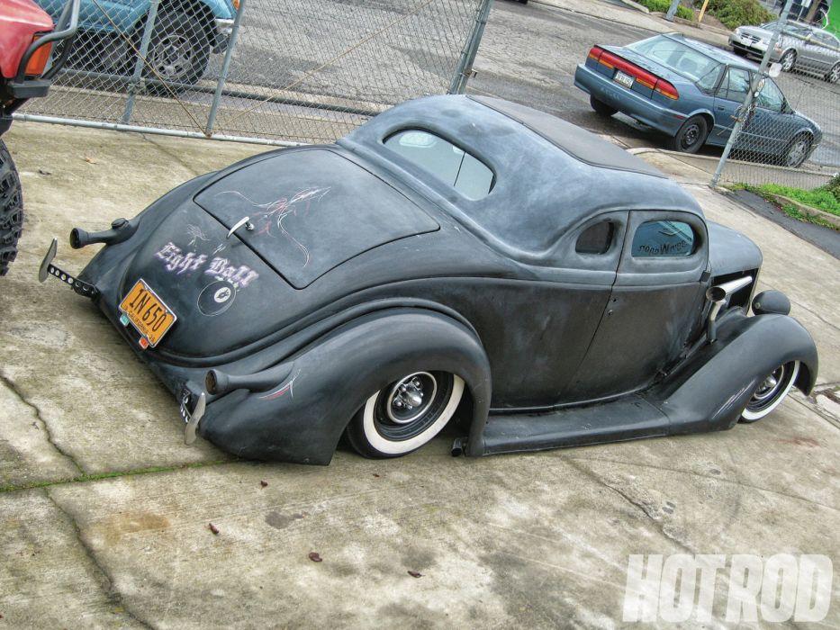 1936 Ford Custom lowrider lowrider hot rod rods  l wallpaper