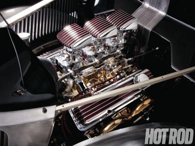 1936 Ford Custom lowrider lowrider hot rod rods 350ci engine engines wallpaper