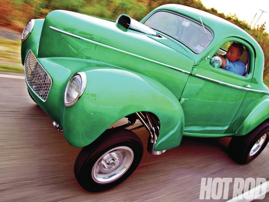 1940 Willys drag racing race hot rod rods  m wallpaper