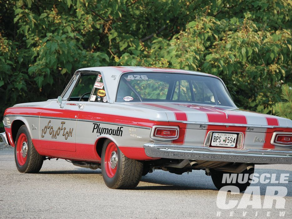 1964 Plymouth Belvedere hot rod rods muscle drag racing race  m wallpaper