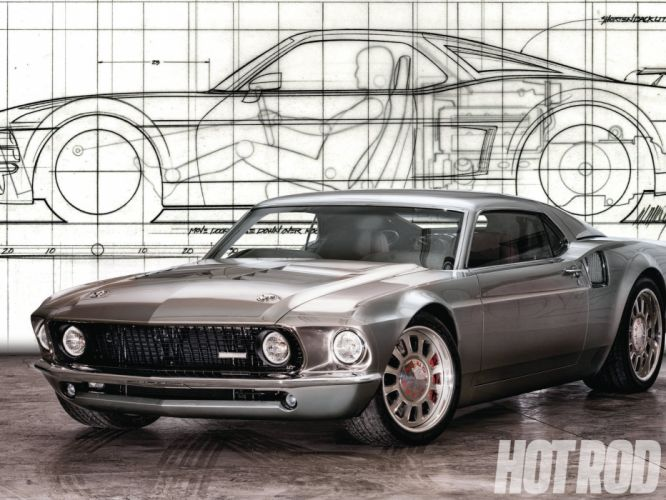 1969 Ford Mustang hot rod rods muscle cars wallpaper