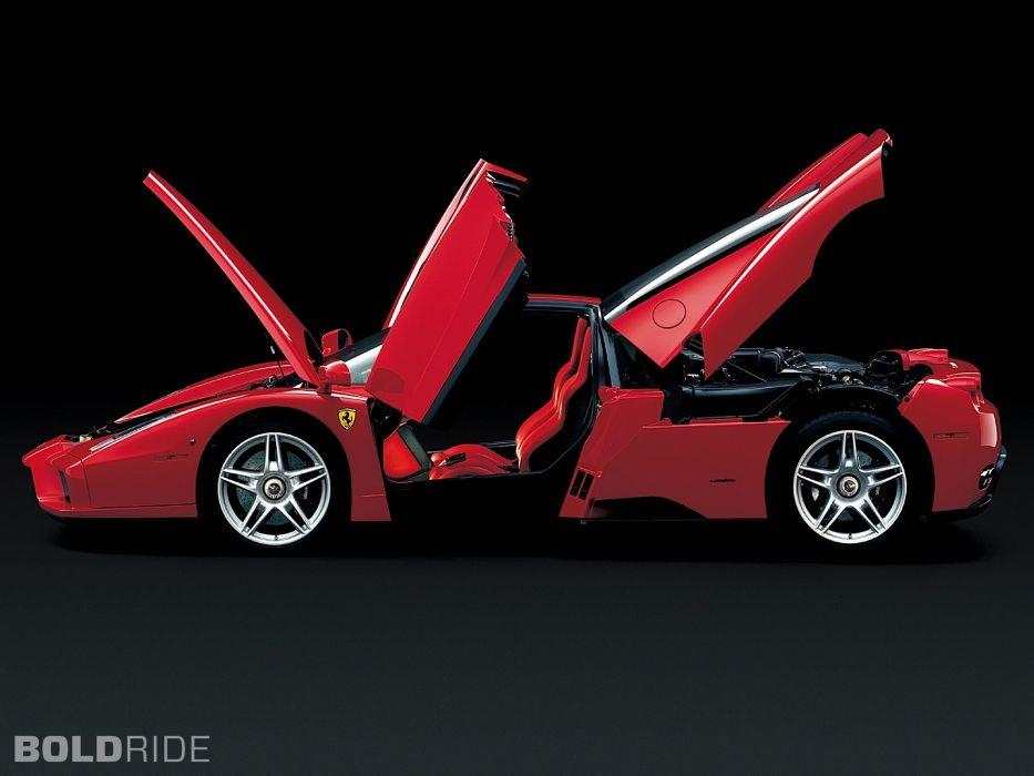 2002 Ferrari Enzo supercar supercars     w wallpaper