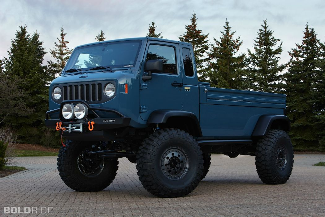 2012 Jeep Mighty FC Concept offroad 4x4 wallpaper