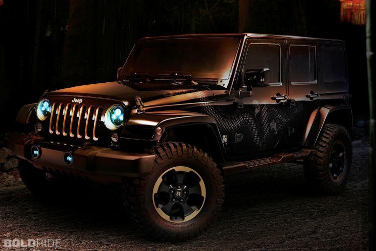 2012 Jeep Wrangler Dragon Design Concept offroad 4x4 e wallpaper