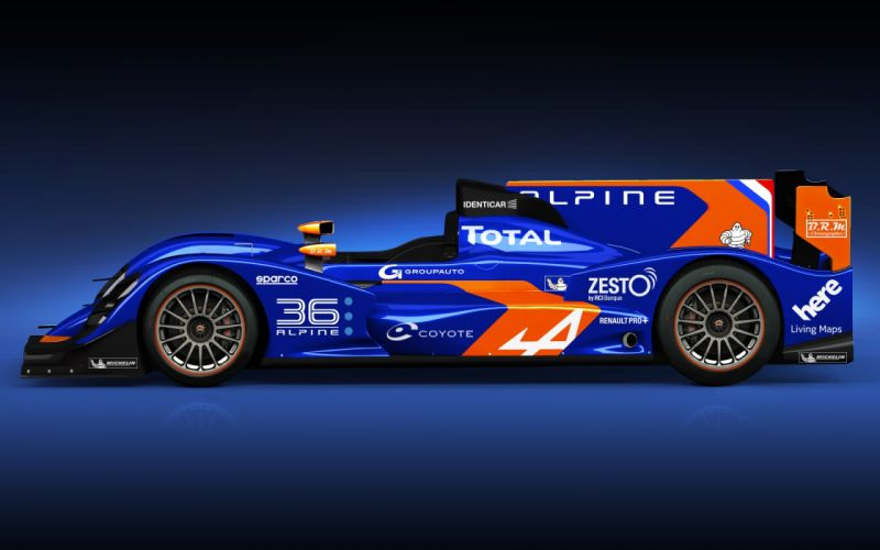 Alpine Nissan N-36 racing race q wallpaper