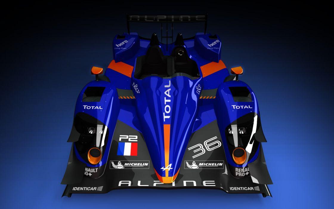 Alpine Nissan N-36 racing race wallpaper