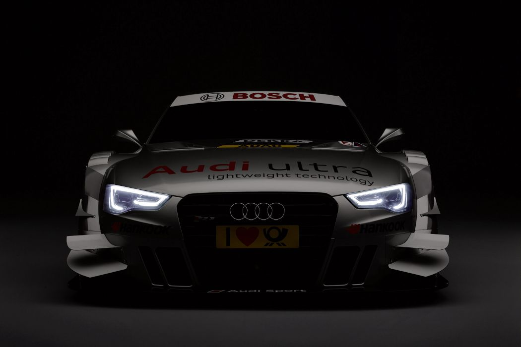Audi RS-5 DTM racing race wallpaper