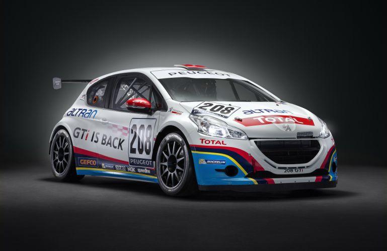 Peugeot 208 GTi Sport racing race wallpaper