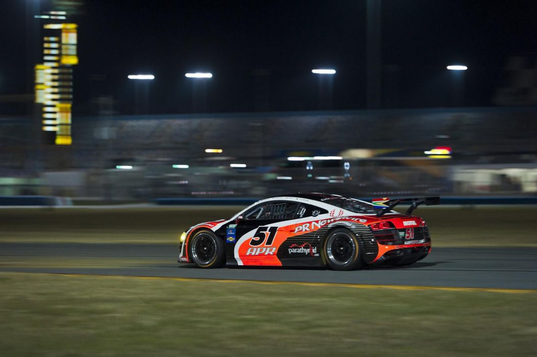Audi R8 GRAND-AM racing race     w wallpaper