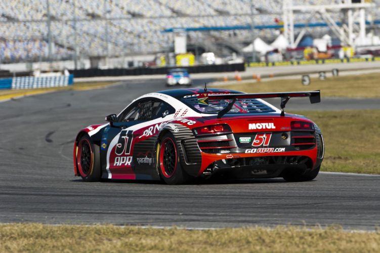 Audi R8 GRAND-AM racing race b wallpaper
