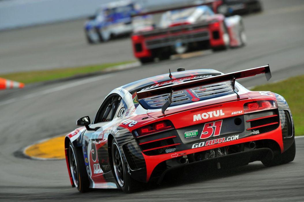 Audi R8 GRAND-AM racing race    z wallpaper