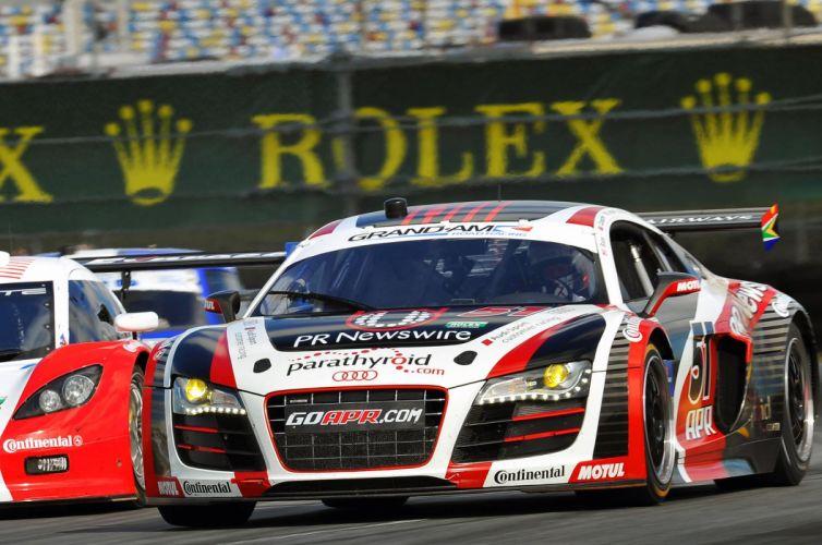 Audi R8 GRAND-AM racing race w wallpaper