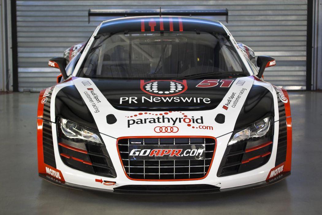 Audi R8 GRAND-AM racing race s wallpaper
