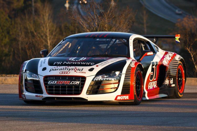 Audi R8 GRAND-AM racing race q wallpaper