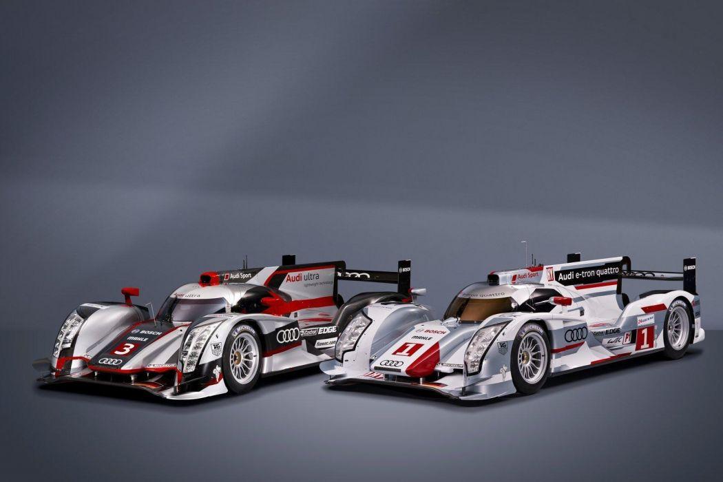 Audi R18 e-Tron Hybrid Quattro racing race   q wallpaper
