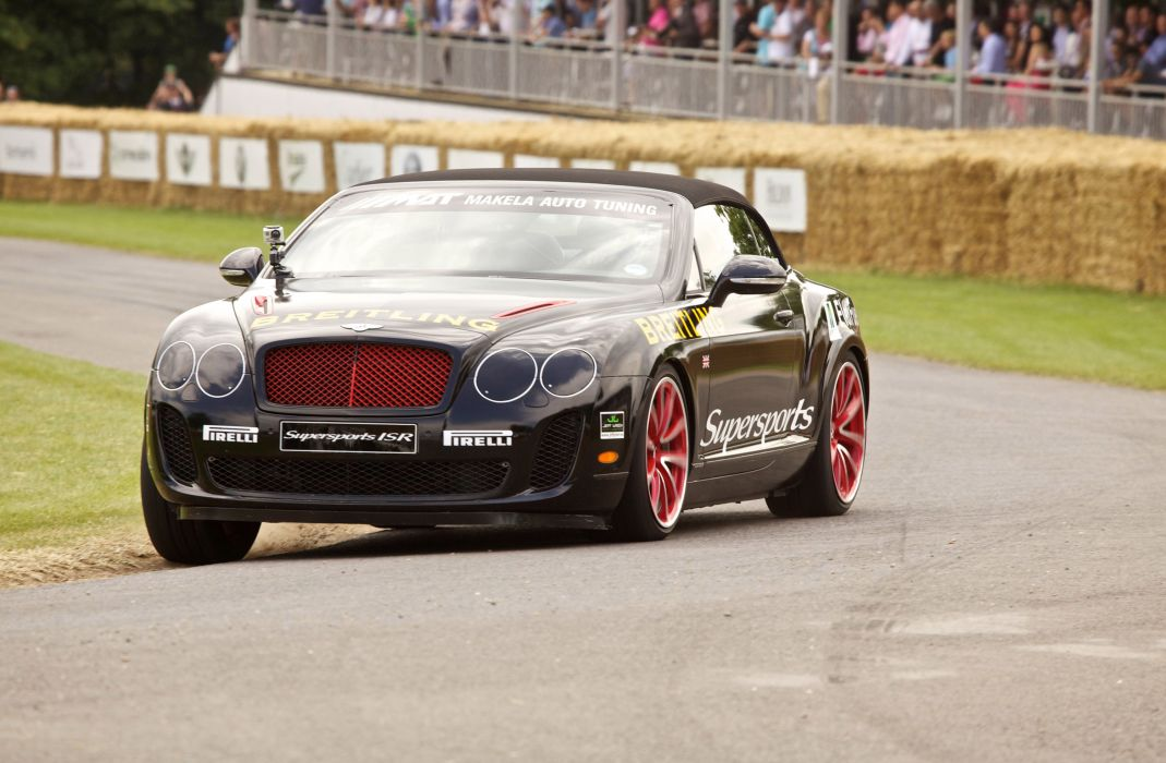 Bentley Continental SuperSports Convertible race racing wallpaper