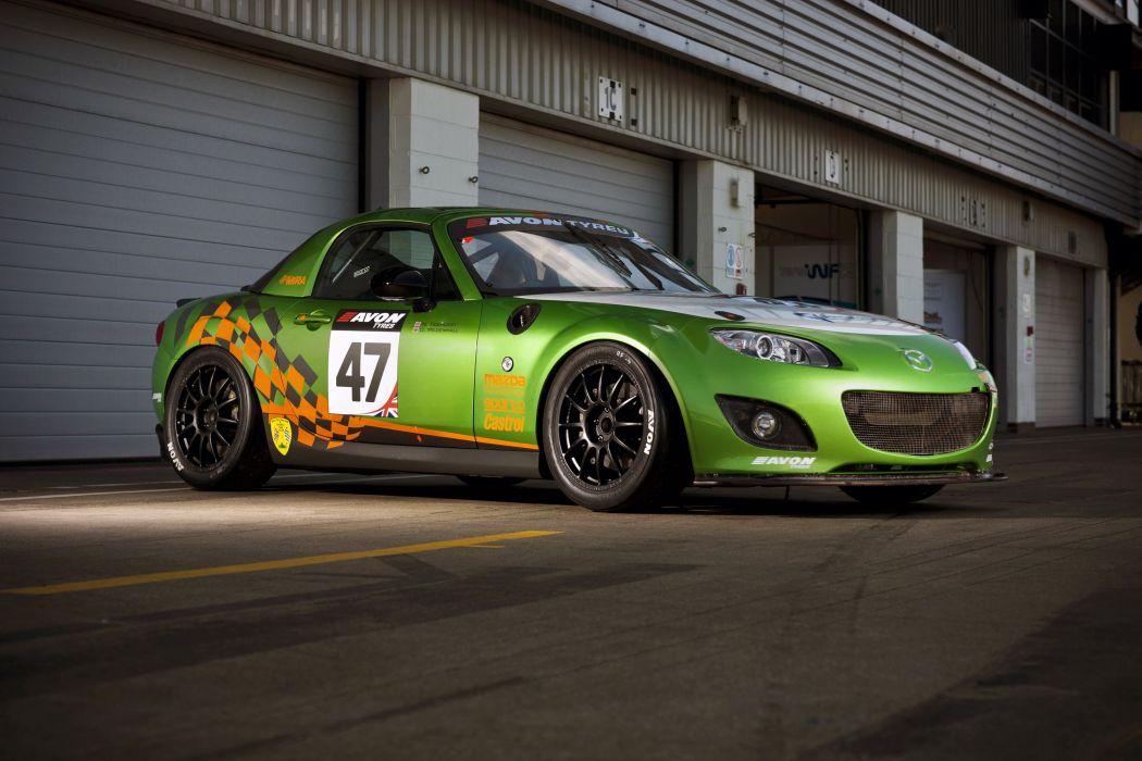 Mazda MX-5 GT Two litre racing race wallpaper