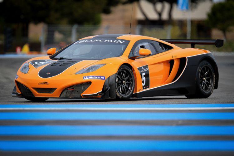 McLaren MP4-12C GT3 racing race supercar supercars w wallpaper