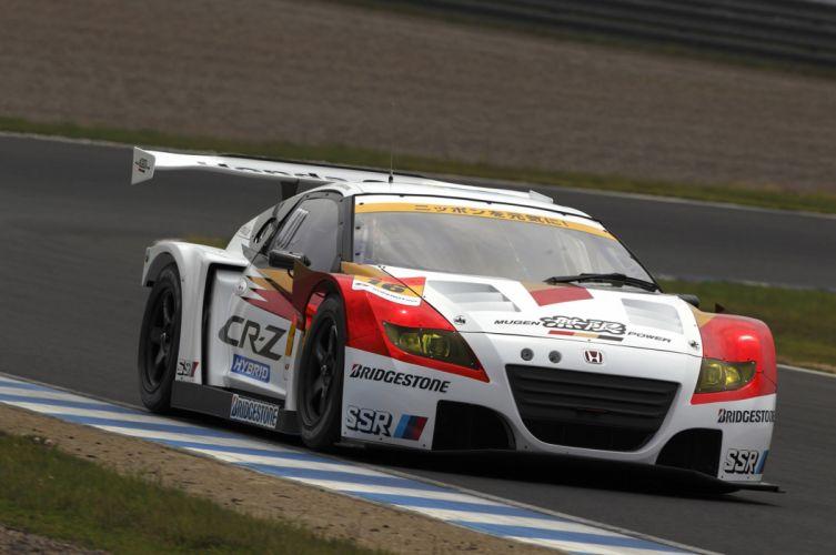 MUGEN Honda CR-Z GT race racing r wallpaper
