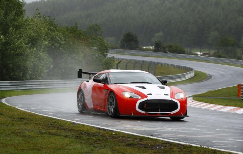 2011 Aston Martin V12 Zagato race racing z wallpaper