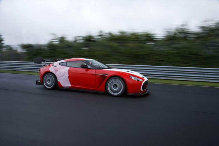 2011 Aston Martin V12 Zagato race racing s wallpaper