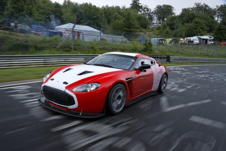 2011 Aston Martin V12 Zagato race racing wallpaper