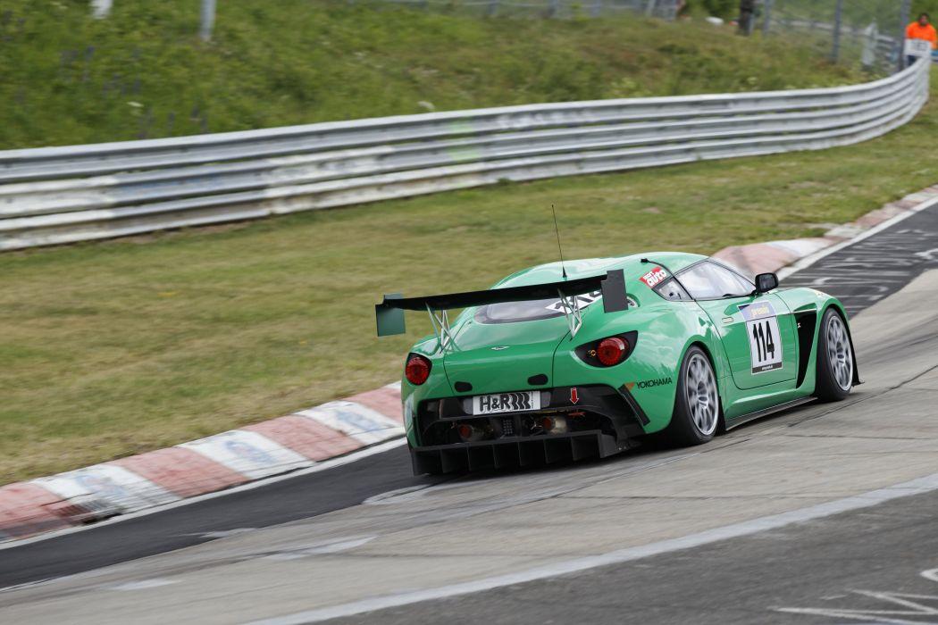 Aston Martin V12 Zagato race racing supercar supercars    a wallpaper